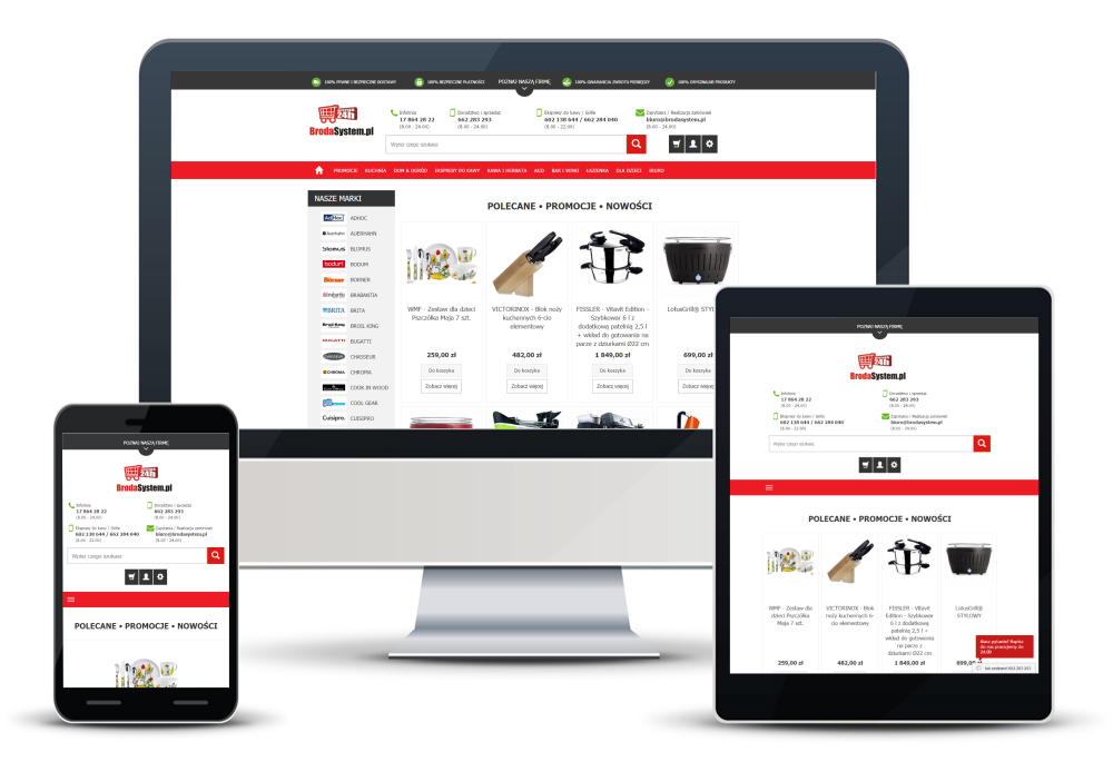 Broda e-Shops System